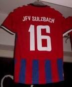 Das neue einheitliche Mannschaftstrikot des JFV Sulzbach e.V.
